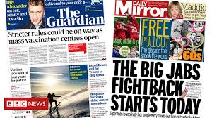 A great headline is essential for a successful newspaper as it attracts a potential buyer's attention and helps the newspaper stand out from its competitors. Newspaper Headlines Stricter Rules And Vaccination Fightback Freenewstoday Breaking News And 24 7 Live Streaming News Latest News Of Usa Great Britain Canada Australia And Other World