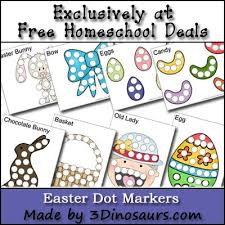 Free Easter Dot Marker Printable Set 18 Page Instant Download