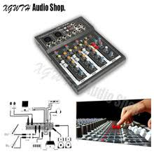 Профессиональный мини 4-канальный студийный Аудио Звук ...