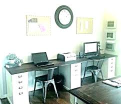Home office for 2 Diy Desk For Home Office For Two Person Desk For Home Office Home Office For Katuininfo Desk For Person Table Decoration Desk For Two People Wish Person