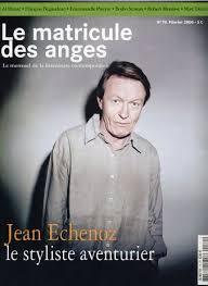 """Résultat de recherche d'images pour """"jean echenoz"""""""
