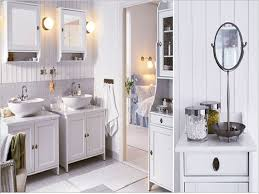 modular bathroom furniture rotating cabinet vibe designer. Furniture Beautiful Sweet And Stylish Ikea All White Bathroom Interior Design With Twin Vanities Cabinet Set Modular Rotating Vibe Designer