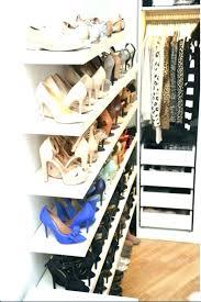 closetmaid shoe shelf shoe rack s maid organizer shelf support bracket shoe rack