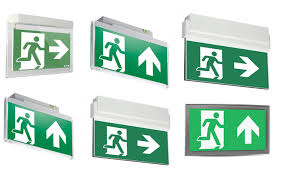lux recommends emergency exit signs