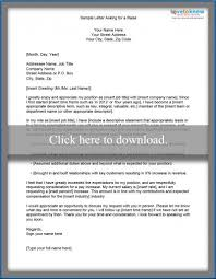 pay raise letter samples free sample letters of request lovetoknow