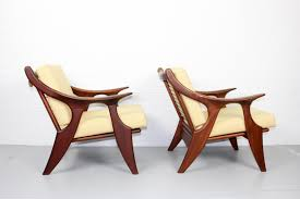 small lounge chairs by de ster gelderland 1950s set of 2
