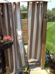 rv outdoor shower enclosure best of outdoor shower curtain enclosure