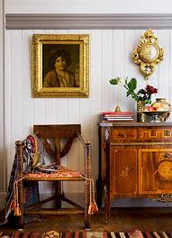 antique furniture decorating ideas. swedish antique furniture paired with a beautiful kelim rug decorating ideas
