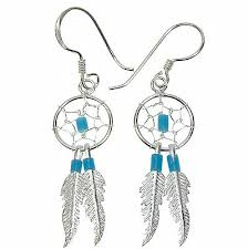 Dream Catcher Earing I WANT dream catchers sooo bad Have wanted a pair for 100 years 78