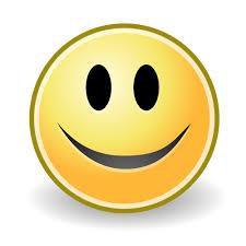 Smiley face icon vector image | Public domain vectors