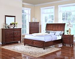 New Classic Bedroom Furniture New Classic Spring Creek Bedroom Set With Storage In Tobacco