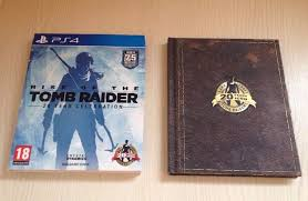 rise of the tomb raider artbook edition ps4