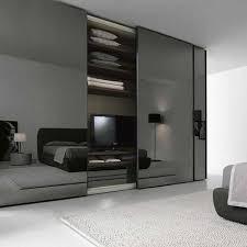 amazing sliding mirror wardrobe doors of smoke glass sliding door wardrobe we love this