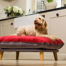 luxury dog bed furniture. Chesta - Cranberry Luxury Dog Bed From Berkeley Cole Medium Beds In Weave Furniture