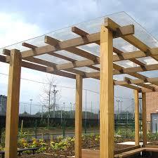 Small Picture Planters Pergolas Abbeywood School Filton Bristol Woodscape