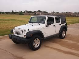 white 2011 jeep wrangler unlimited sport white hard top suv 4x4 power windows locks 27988 granbury texas 76049 dfw