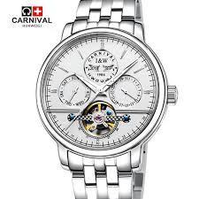 <b>Carnival Tourbillon Men</b> Top Brand Automatic Mechanical Watches ...