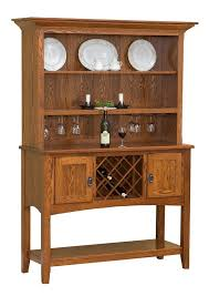 Amish Mission Sideboard with Hutch Top