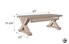 Great prices and selection of 36 folding tables X Leg Coffee Table W Shelf Rogue Engineer
