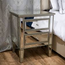 Add some detail to your home with the Graham end table nightstand. With its  unique