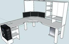 computer desk blueprints computer desk plans computer desk build guide