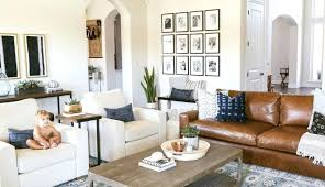 black and white rug brown couch light red pictures leather decor sofas sofa wall ideas dark black and white rug brown couch