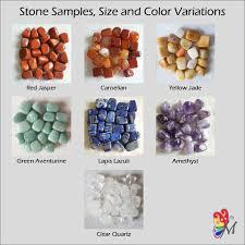 7 Chakra Tumble Stone Set With Chakra Cards Beginner Instruction Chakra Balancing Or Meditation Kit Healing Crystal Set Spiritual Gift