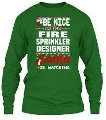 automatic fire fighting concealed fire sprinkler head price buy be nice to the fire sprinkler designer santa is watching ugly sweater fire sprinkler designer