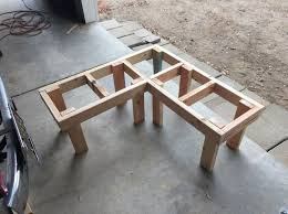 corner seating furniture. diy corner bench frame with legs attached seating furniture t