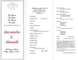 sample wedding ceremony program wedding ceremony program clipart 43