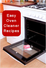 Easy Oven Cleaner Recipes I already use baking soda dawn and vinegar mix  best cleaner I've EVER used even better the industrial stuff impo, ...
