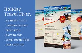 Create Advertising Flyers 10 Gorgeous Travel Agency Flyer Templates To Grow Your Travel Business _