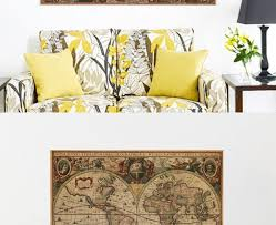 home decorating ideas vintage vintage nautical retro paper world map poster wall chart home decoration wall st awesome home design ideas and decor