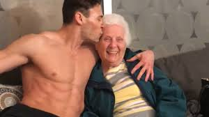 GRANDMA GETS A LAP DANCE Ross Smith YouTube