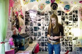 Fairy Light Teen Girls Room Decorating Design