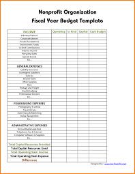 Sample Budget For Non Profit Organization Statement Of Cash Flows For Non Profit Organization Smart
