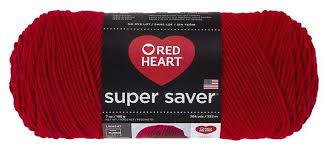 Red Heart Yarn Conversion Chart Red Heart Super Saver Worsted Weight Yarn