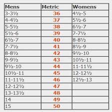 Tcx Boots Size Chart Sidi Size Chart Sidi Shoe Size Chart Sidi Boot Sizing Chart