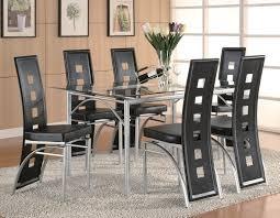 glass top modern dining table set slider 0 slider 0