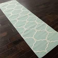 rugs flat weave pattern wool blue ivory area rug moroccan uk