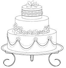 Birthday Cake Coloring Birthday Cake Coloring Page Pages Trend Cakes