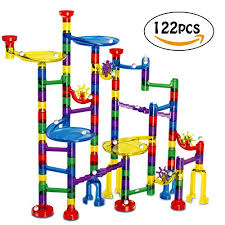 marble run toy construction set gift for 5 year olds