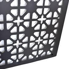ornate laser cut metal wall art 120cm