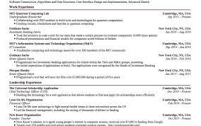Modern Goldman Sachs Analyst Resume Photos Entry Level Resume