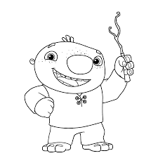 Wally Kazam Free Coloring Pages