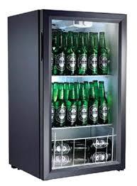 small glass door refrigerator beer fridge compact beverage display cooler commercial litre