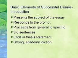 process essay writing staring into the abyss ppt video online  basic elements of successful essays introduction
