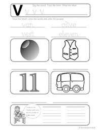 Phonics worksheets and online activities. Phonics Worksheets Lesson Plan Flashcards Jolly Phonics Letter V Lesson Pack