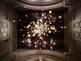 omer arbels clustered pendant lights at londons architect omer arbel office click