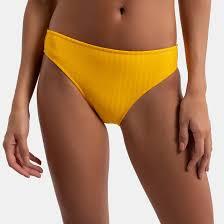 <b>Плавки</b> от купальника, форма бикини желтый <b>La Redoute</b> ...